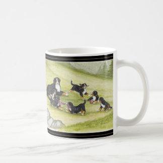 Mom & Pups Coffee Mug