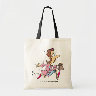 Mom Running Tote Bag