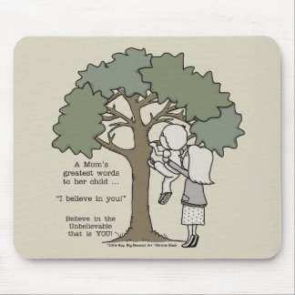 Mom's Greatest Words Mouse Pad