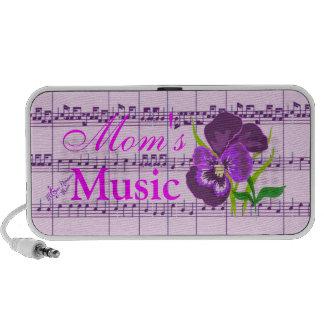 Mom s Music Purple Flower Mini Speaker
