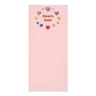 Mom s Rule Full Color Rack Card