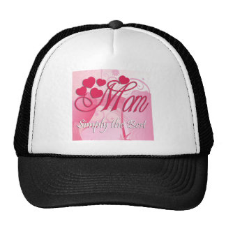 Mom Simply The Best Hats