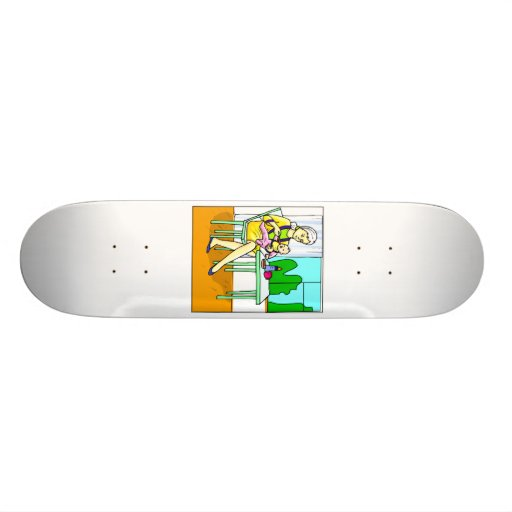 Mom sitting at table feeding baby graphic.png skate boards