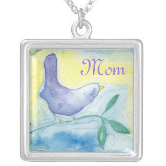 Mom Song Bird Necklace