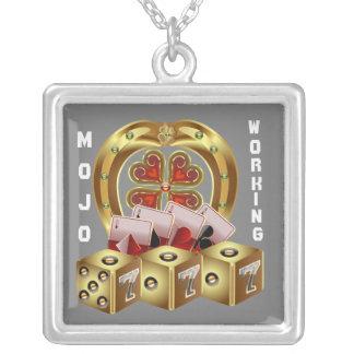 mom square pendant necklace
