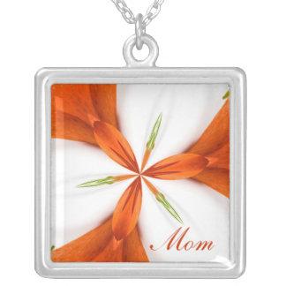 Mom strawberry kaleidoscope Necklace