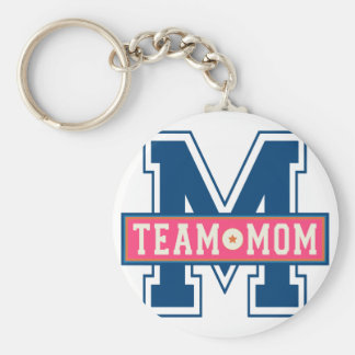 Mom team cool kid design key ring
