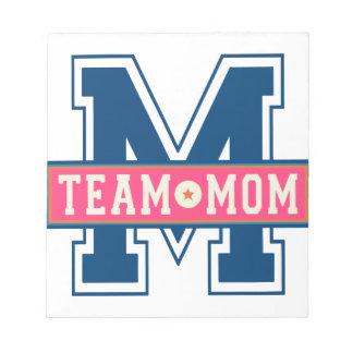 Mom team cool kid design notepad