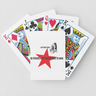mom tenderness bc bicycle playing cards