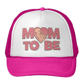 Mom to Be Maternity Trucker Hat