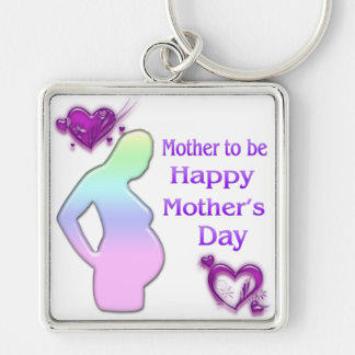 Mom To Be Mother's Day Keychain