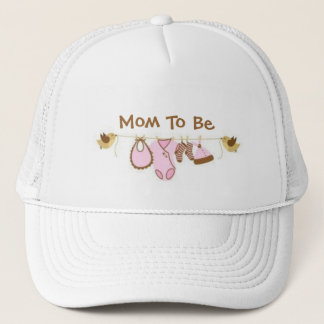 Mom To Be Trucker Hat