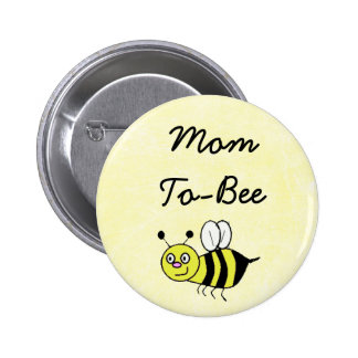 Mom-To-Bee Baby Shower Mommy Pin