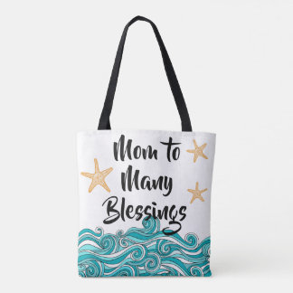 Mom to Many Blessings Starfish Story Adoption Tote Bag