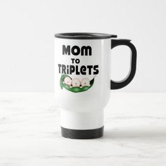 Mom to Triplets (peapod) Coffee Mugs