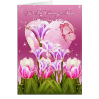 Mom Valentine's Day Card - Floral Valentine's Day