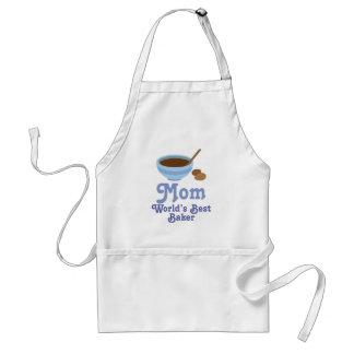 Mom Worlds Best Baker Gift Apron