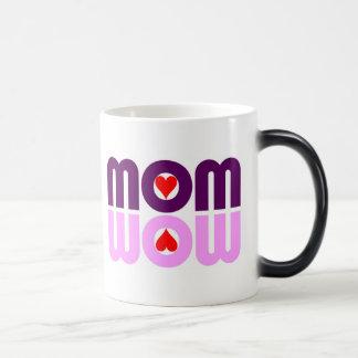 MOM WOW Hearts Reflection Coffee Mug