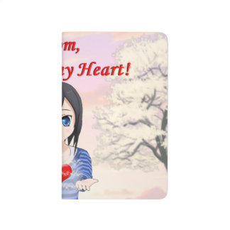 Mom, You are my Heart (Customizable) Journal