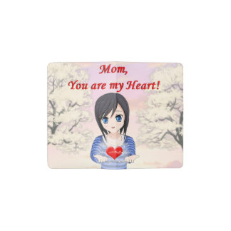 Mom, You are my Heart (Customizable) Pocket Moleskine Notebook