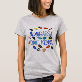 Mombassa Kenya Dive Tshirt