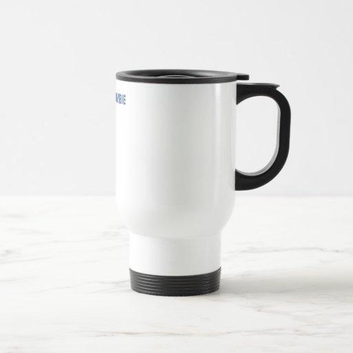 Mombie Stainless Steel Travel Mug
