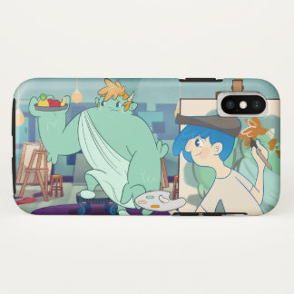 Mombou's Art Project iPhone X Case