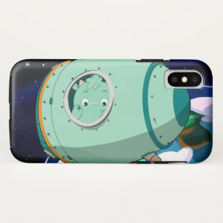 Mombou's Space Pod iPhone X Case