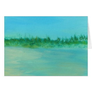 Moment by the Sea Blank Note Card