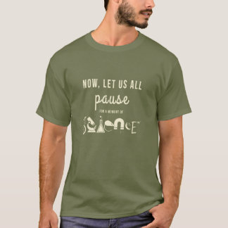 Moment of Science Army Green T-Shirt