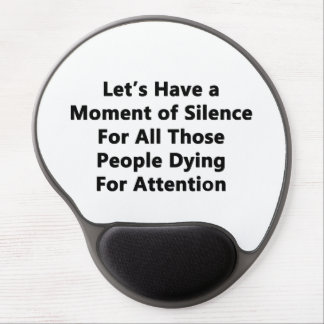 Moment of Silence Gel Mouse Pad