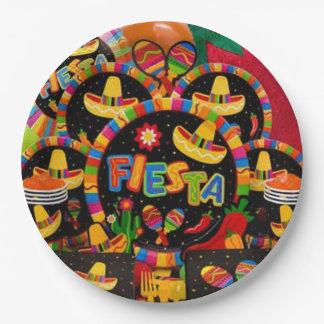 Momento de la Fiesta Cinco de Mayo Party Plate
