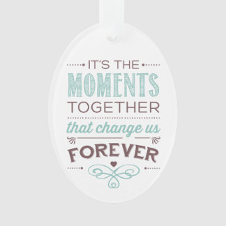 Moments Together Wedding Date Tree Ornament