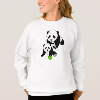 Momma and Baby Panda Sweatshirt