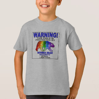 Momma Bear Autism Awareness Security T-Shirt