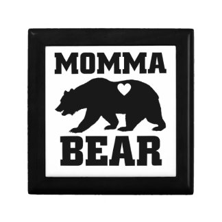 Momma Bear Best Gift Quote for mom shirt Gift Box