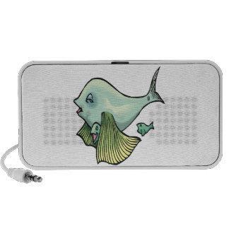 Momma Fish Notebook Speaker