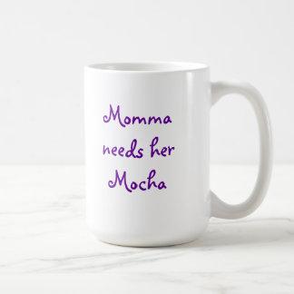 Momma Needs Mocha Coffee Mug