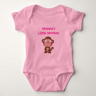 Momma's Little Monkey Baby Bodysuit