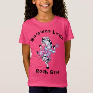 Mommas Little Rock Star Zebra T-Shirt