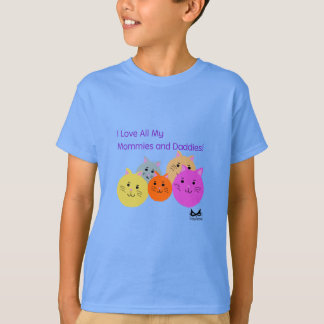 Mommies and Daddies Polyamory Family Products T-Shirt