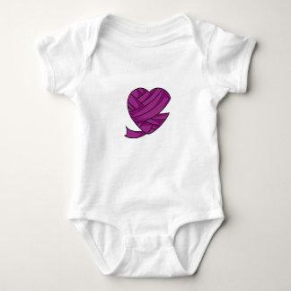MommiFried Heart Infant Creeper