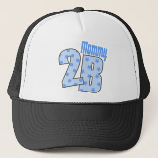 Mommy 2 B (Blue) Trucker Hat