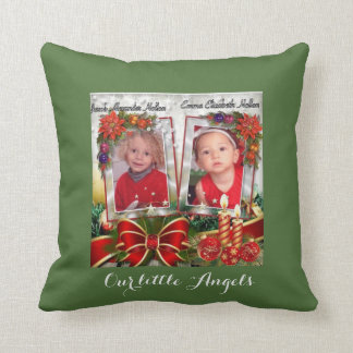 Mommy and Daddy loves us Christmas Pillow