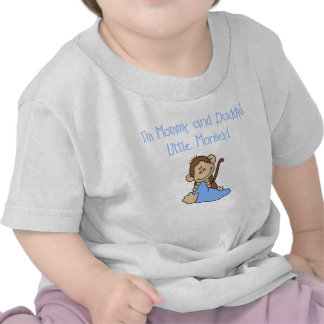 Mommy and Daddy s Boy Monkey T-shirts