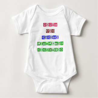 Mommy and Daddy's Little Tax Deduction Baby Bodysuit