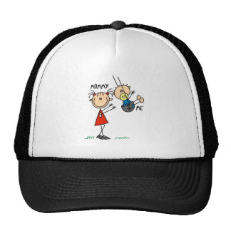 Mommy And Me Swing Baseball Cap Hat