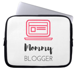 Mommy Blogger Laptop Sleeve