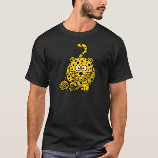 Mommy Cubs Leopard Cartoon T-Shirt