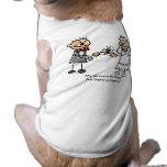 Mommy & Daddy Getting Married Dog Shirt